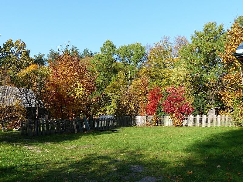 Residence Rousseau, Garten