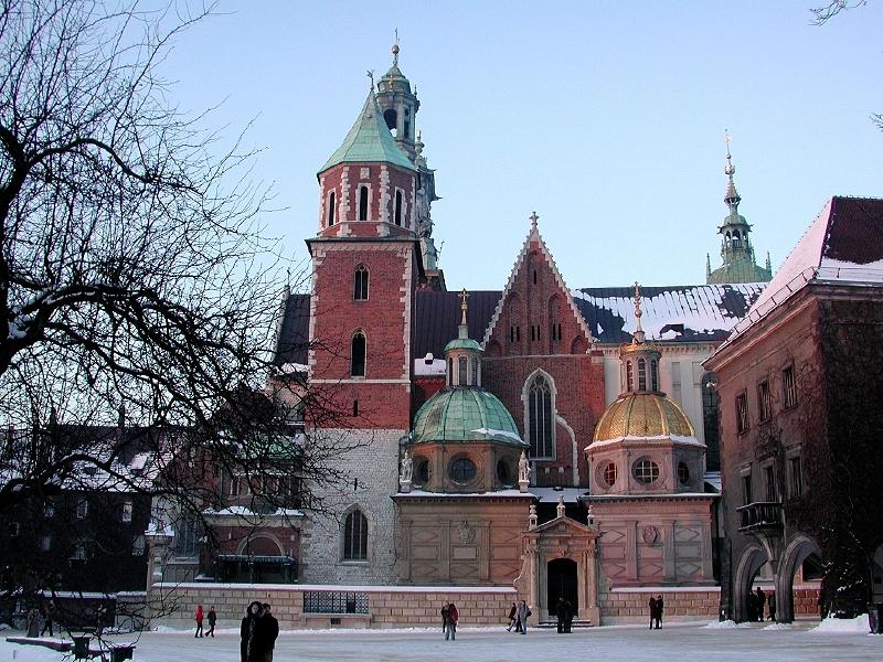 Wawelschloss in Krakau