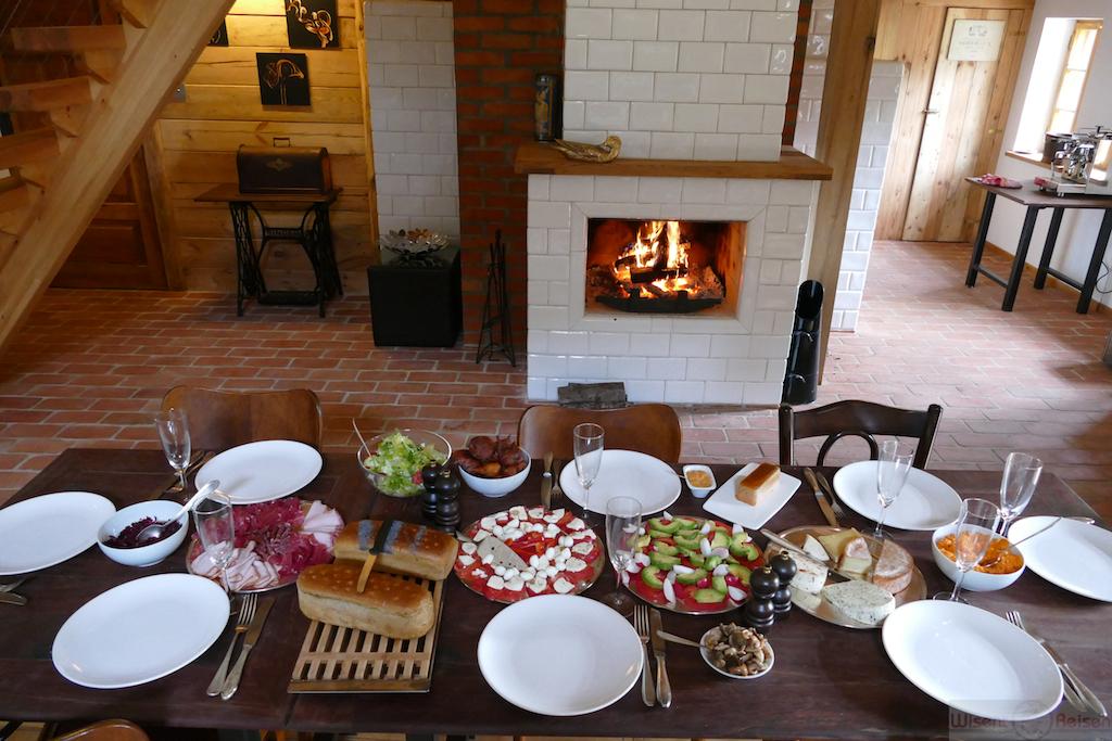 Frühstück in der Residence Rousseau