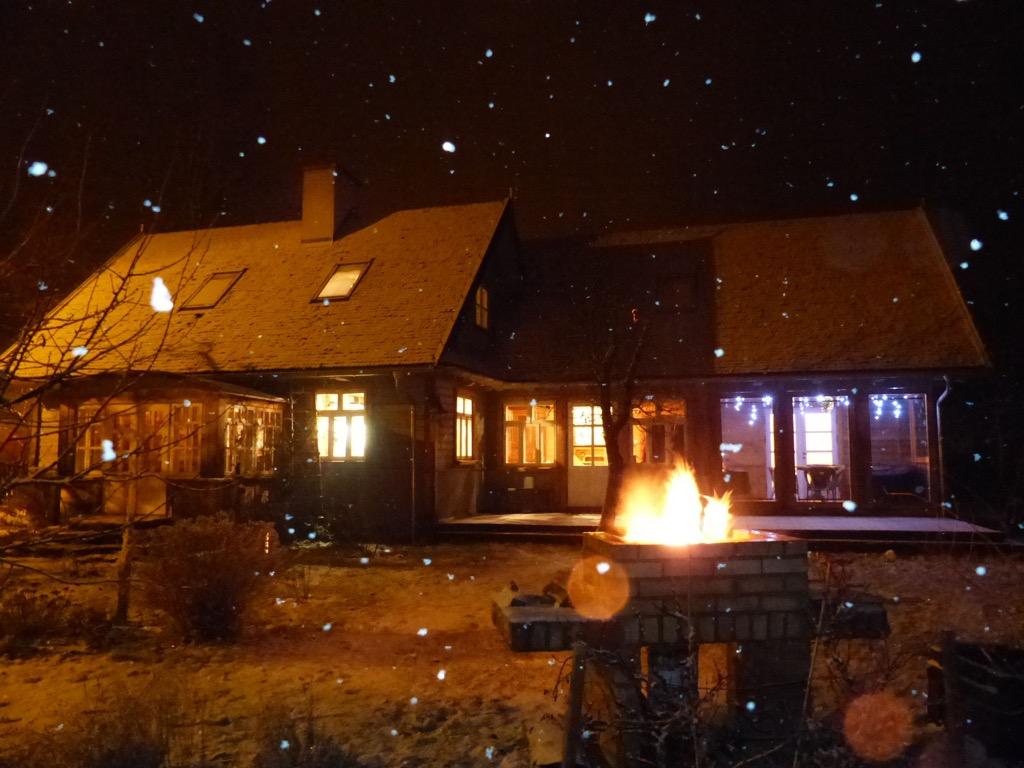 Villa Wisent im Winter