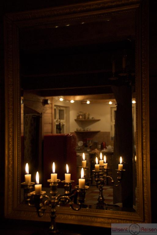 Winterabend in der Villa Wisent