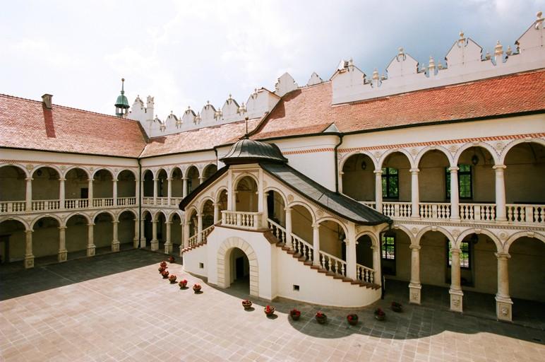 Schloss in Baranów Sandomierski