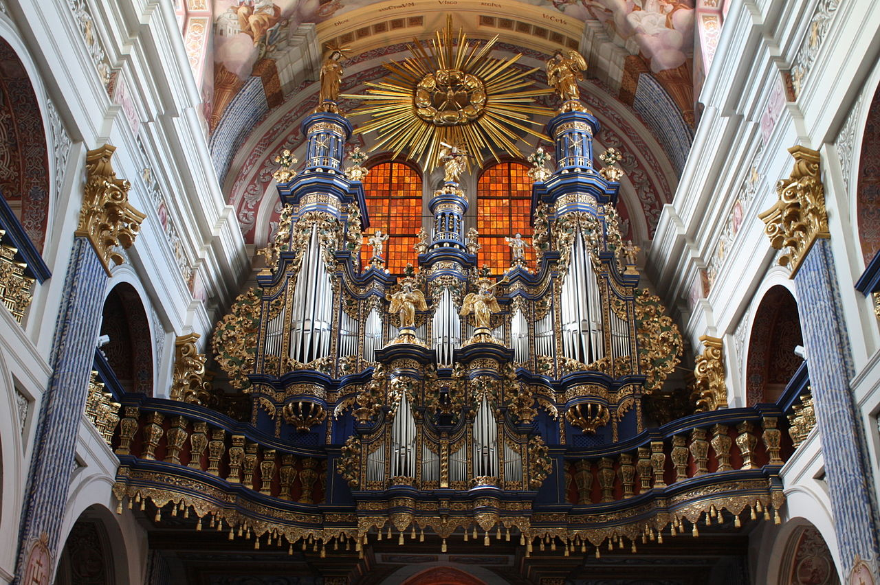 Orgel von Johann Josua Mosengel in Heilige Linde