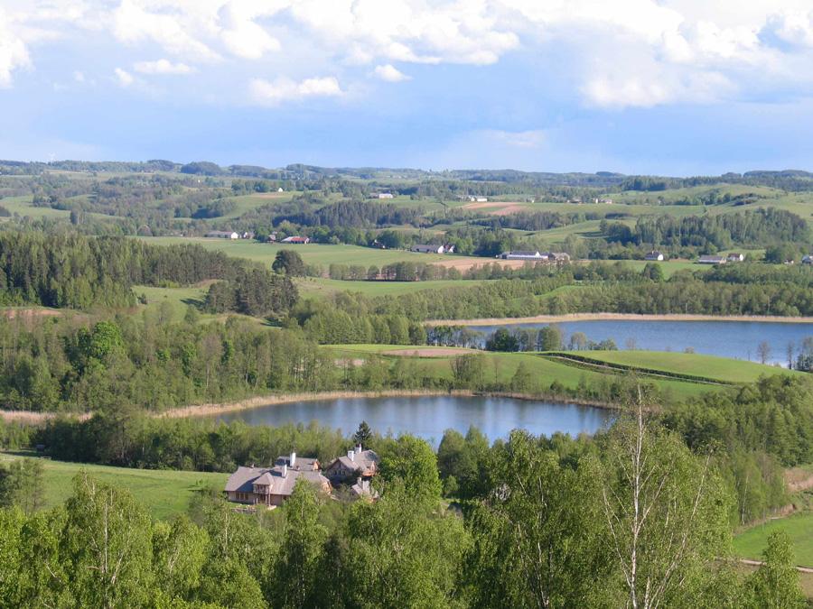 Jaczno See, Sommer