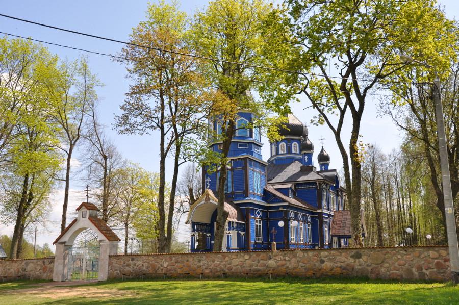 Othodoxe Kirche in Puchły